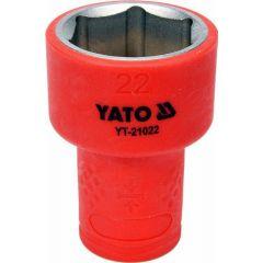 """YATO NASADKA IZOLOWANA 3/8""""*22mm 6-KĄT. YT-21022"""