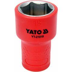 """YATO NASADKA IZOLOWANA 3/8""""*19mm 6-KĄT. YT-21019"""