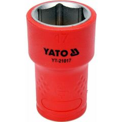 """YATO NASADKA IZOLOWANA 3/8""""*17mm 6-KĄT. YT-21017"""