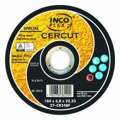INCOFLEX  TARCZA METAL  125*1,0 CERCUT      M413-125-1.0-22CR46