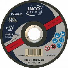 INCOFLEX TARCZA METAL   180*2,0 M41-180-2,0-22A36T