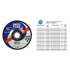 INCOFLEX TARCZA METAL SZLIFIERKSA 125*6,8 M273-125-6,8-22CR24