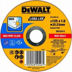 DEWALT TARCZA METAL 125x1,6mm DT43906-QZ