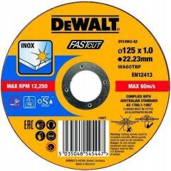 DEWALT TARCZA METAL 125x1,0mm DT43902-QZ