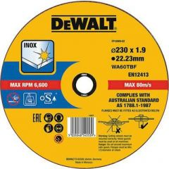 DEWALT TARCZA METAL 230x1,9mm DT43909-QZ