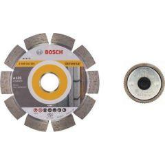BOSCH TARCZA DIAMENTOWA .ZESTAW 3szt. 125mm + NAKRĘTKA SDS EXPERT FOR UNIVERSAL 061599759Y
