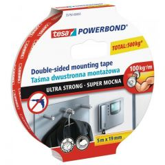 TESA TAŚMA POWERBOND 5m x 19mm ULTRA STRONG 55792-00003-01