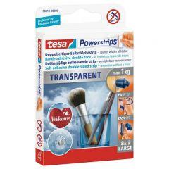 TESA PLASTRY POWERSTRIPS DECO 8szt. 1kg PRZEZROCZYSTE 58810-00000-00