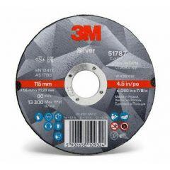 3M TARCZA DO CIĘCIA 125mm x 1mm SILVER 7100139232