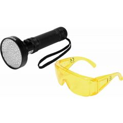 YATO LATARKA UV 100 LED + OKULARY YT-08582