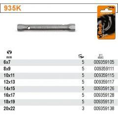 BETA KLUCZ RUROWY  6x7mm /KARTA 935K-6X7