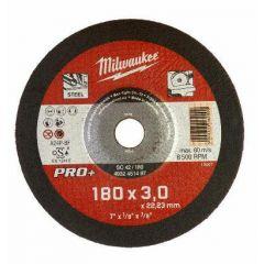 MILWAUKEE TARCZA DO CIĘCIA METALU 180 x 3,0 x 22,2mm PRO+ 4932451497