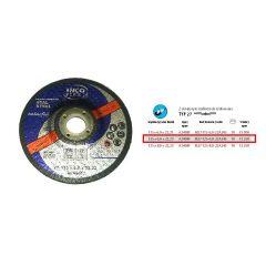 INCOFLEX TARCZA DO SZLIFOWANIA METALU 125 x 6,0 x 22,2mm M27-125-6.0-22A24S