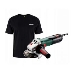 METABO SZLIFIERKA KĄTOWA 125 /WEVA 11-125 QUICK + T-SHIRT XL PL_SP20603625000