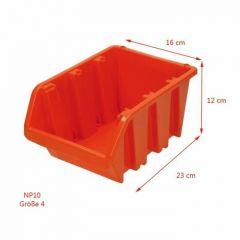PROSPERPLAST ECOBOX CZERWONY 10 160x230x120mm NP10-R395