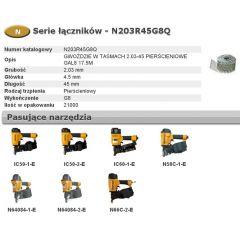 BOSTITCH GWOŹDZIE W TASMACH N55  2,03-45 RING GALWANIZOWANE G8 21000szt. N203R45G8Q