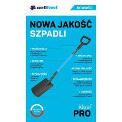 CELLFAST IDEAL SZPADEL PROSTY PRO + ŻYŁKA 40-203AP120D