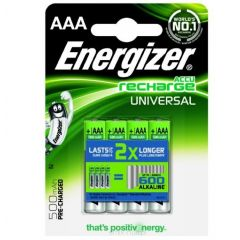 ENERGIZER AKUMULATOR HR03/4 AAA UNI 500MAH ENER03-4UNI