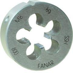 FANAR NARZNKA M16 x 2,00  HSS800 DIN 22568 FAN-N1-121001-0160