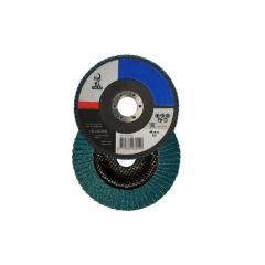 NORTON ŚCIERNICA LISTKOWA ATLAS KX663 125mm P 80 78072707163