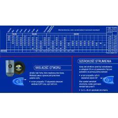 GRACO FINE FINISH GREEN / DYSZA WYKOŃCZENIOWA ZIELONA FFA310 FFA310