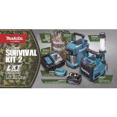 MAKITA ZESTAW SURVIVAL KIT2 LXT MLXT2