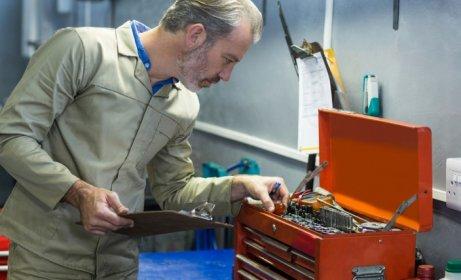 Niezbędnik prac remontowych – torby, skrzynie i wózki narzędziowe